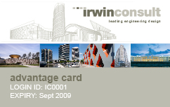 Concierge Desk Irwin Consult Card