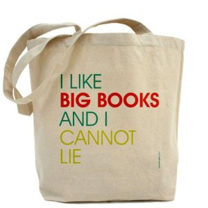 I Like Big Books And I Cannot Lie Tote by Pamela Fugate Designs