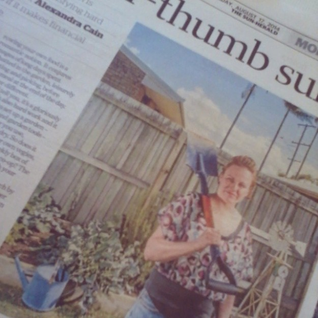 Sun Herald/The Age - The cost of growing your own food