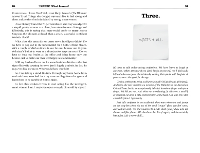 Chapter Intro - ISSUES What Issues Alli & Genine Typesetting by Rochelle Stone Barefoot Basics