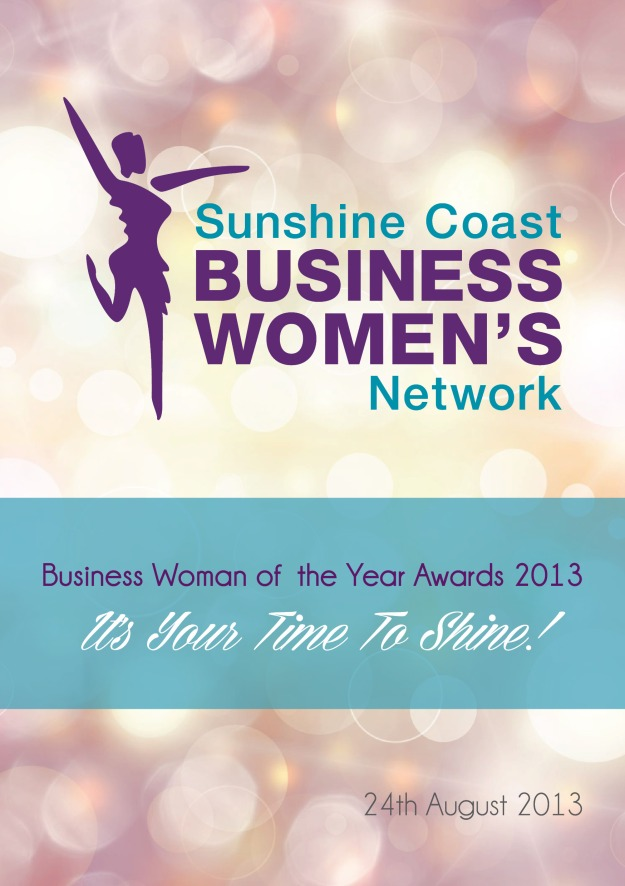 Sunshine Coast Business Woman of the Year Gala Program 2013 Cover Page