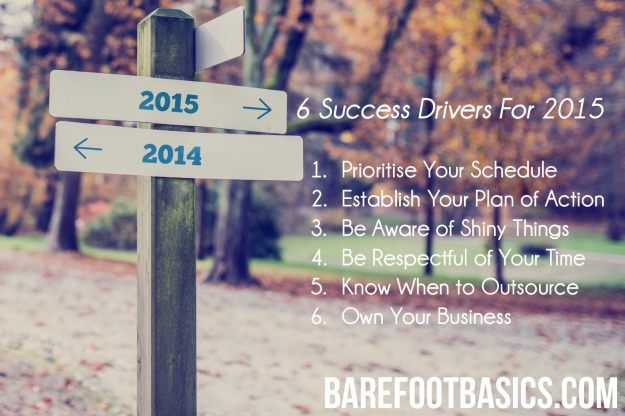 6 Drivers For Success in 2015 - Barefoot Basics