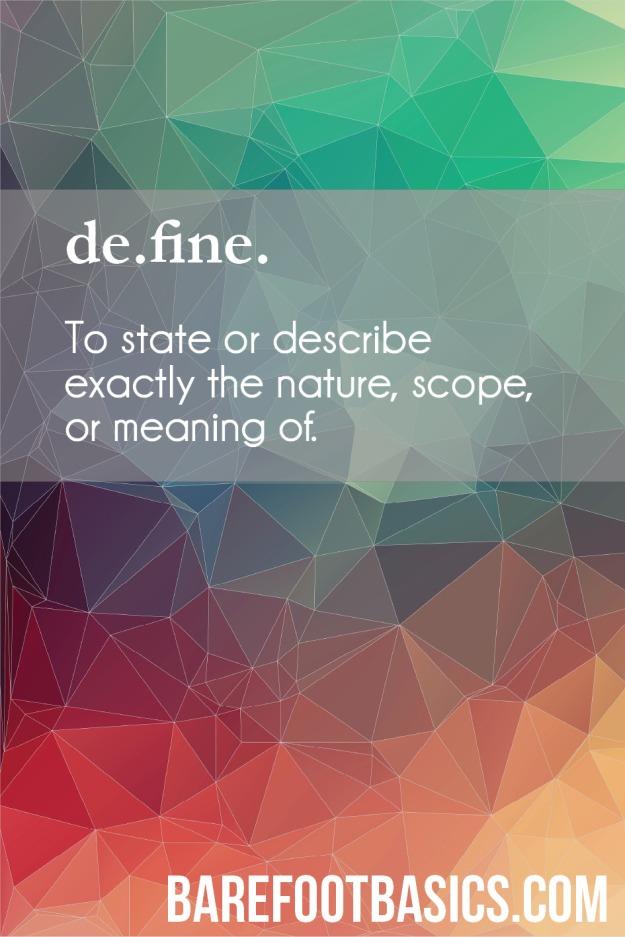 define 2015 with Barefoot Basics